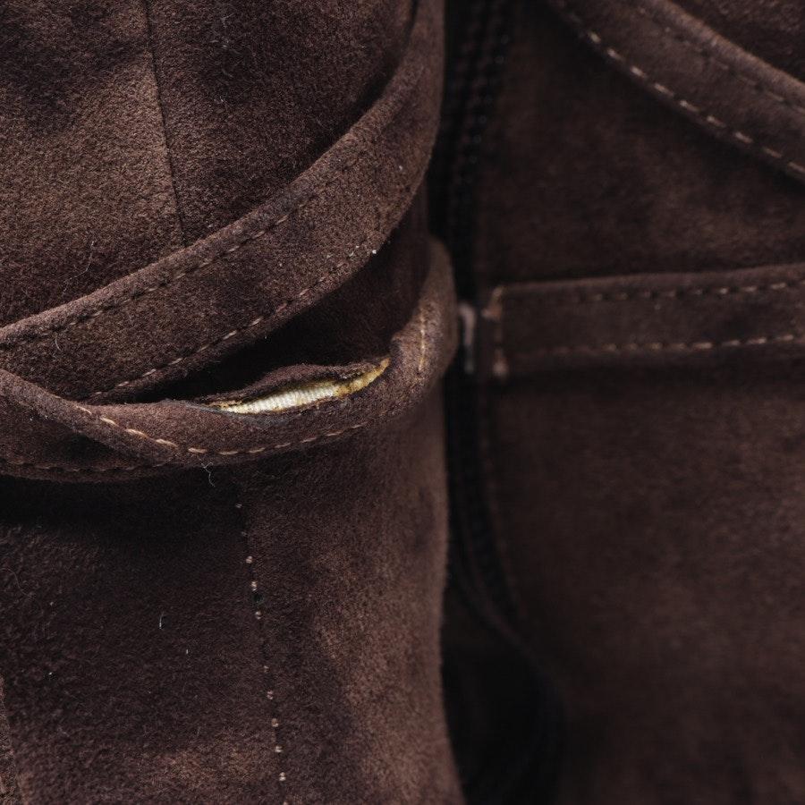 Stiefel von Accademia in Dunkelbraun Gr. EUR 38