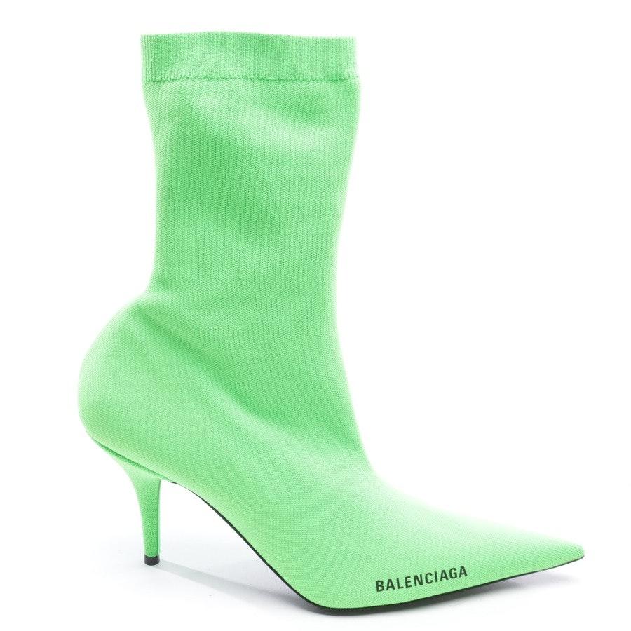 Stiefeletten von Balenciaga in Neon Grün Gr. EUR 40 Neu