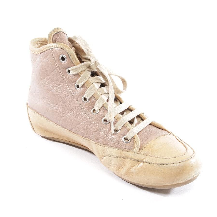 High-Top Sneaker von Candice Cooper in Braun Gr. D 37
