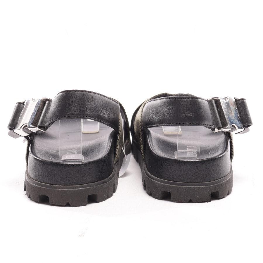 flat sandals from Prada in Darkolivegreen and Black size EUR 38