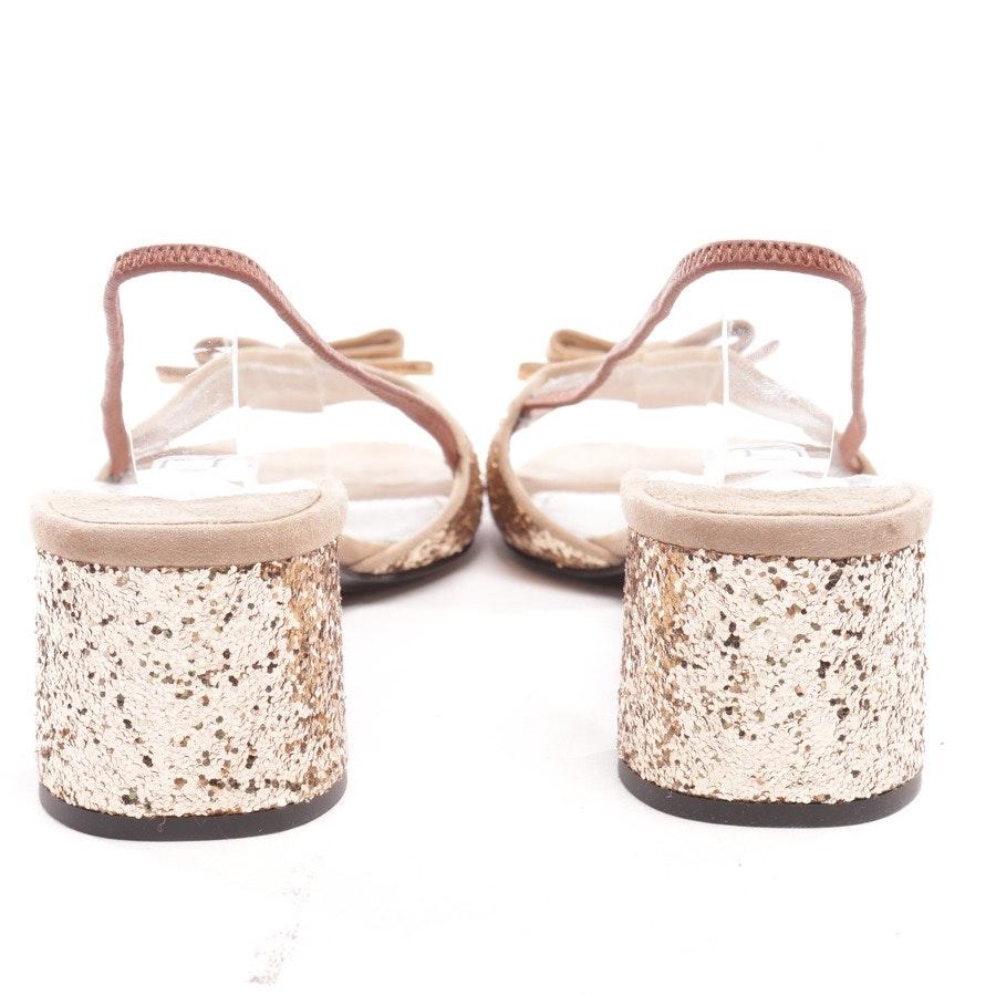 Sandaletten von Prada in Gold Gr. EUR 39,5 Neu