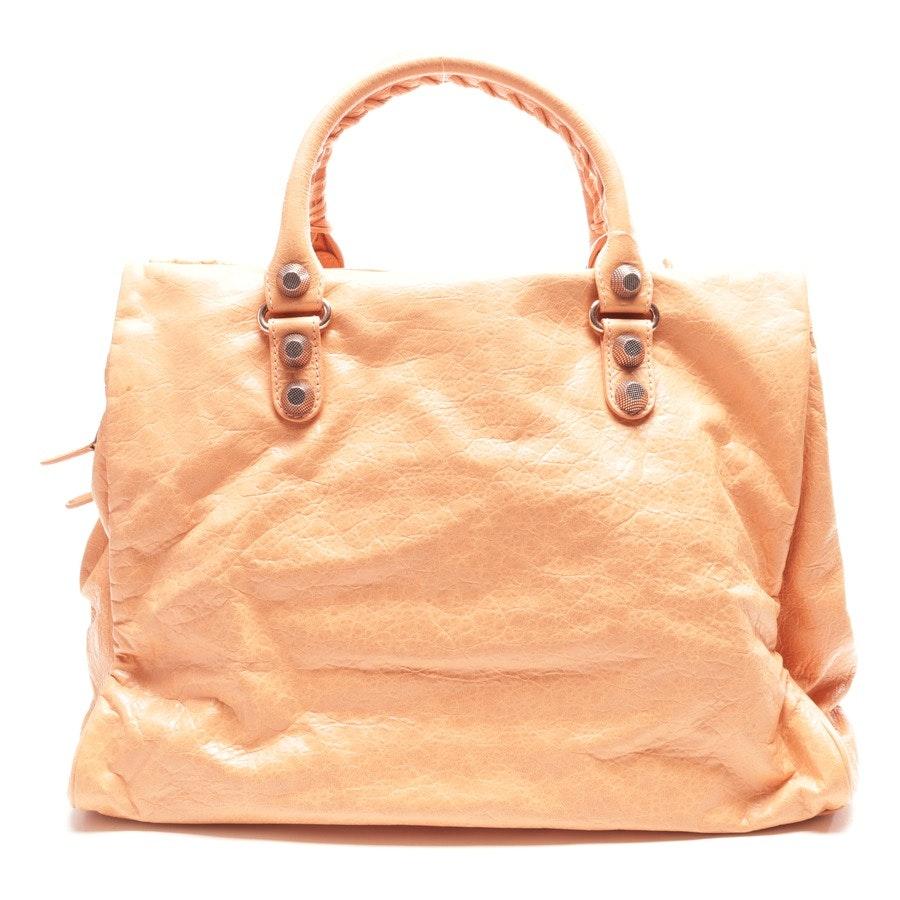 Schultertasche von Balenciaga in Apricot