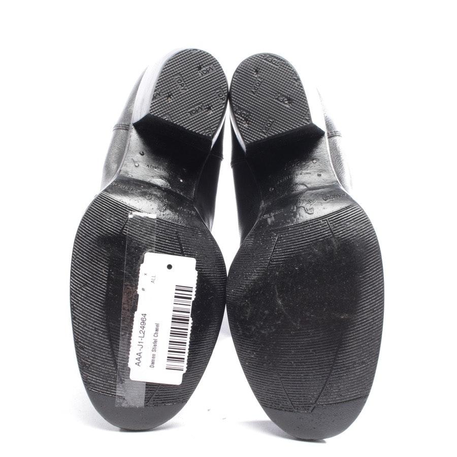 Stiefel von Chanel in Schwarz Gr. D 36,5