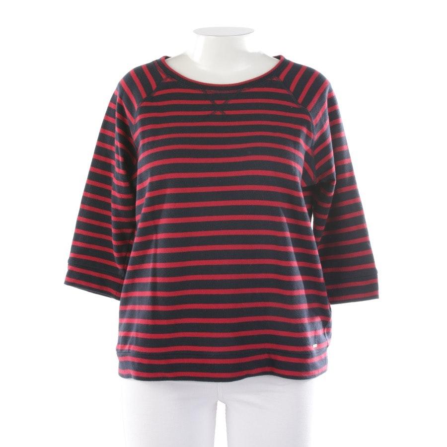 Sweatshirt von Woolrich in Dunkelblau und Rot Gr. XL