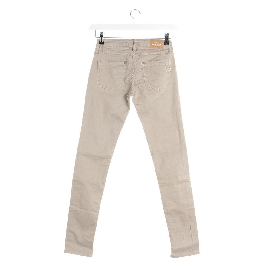 Jeans von Please in Beige Gr. 2XS