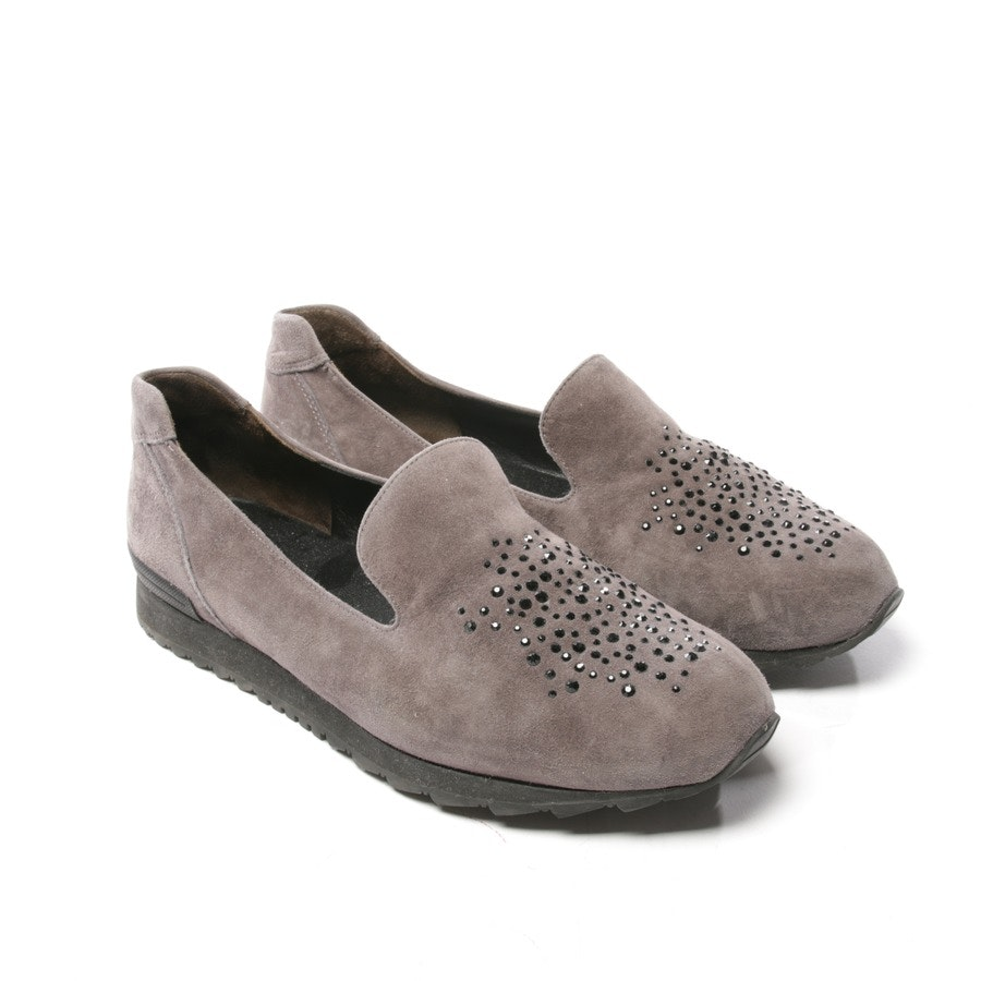 Slipper von Kennel & Schmenger in Taupe Gr. D 37