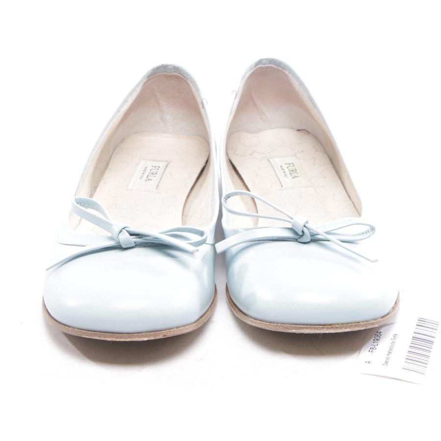 Ballerinas von Furla in Hellblau Gr. D 36