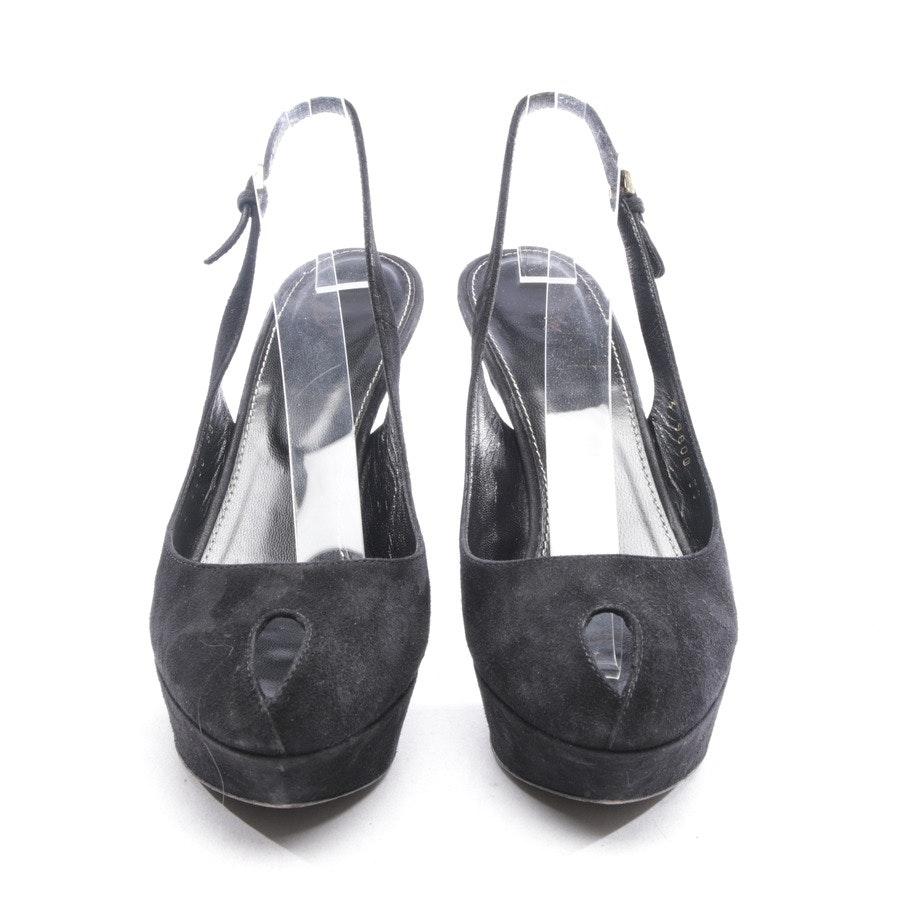 Sandaletten von Sergio Rossi in Schwarz Gr. D 38