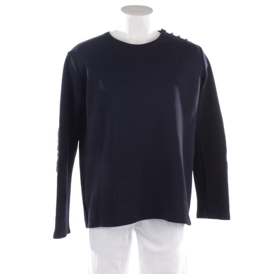 Sweatshirt von Balmain in Blau Gr. XL