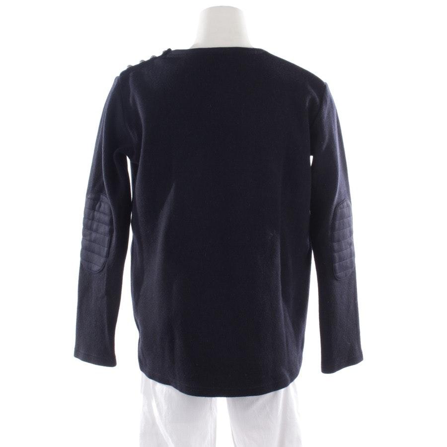 sweatshirt from Balmain in blue size XL