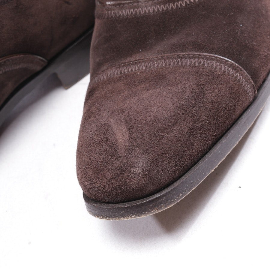 loafers from Prada in brown size D 39 UK 5