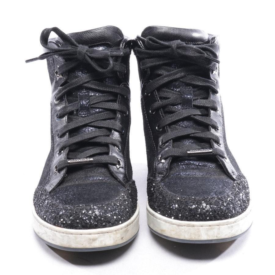 High-Top Sneaker von Jimmy Choo in Schwarz Gr. D 36,5