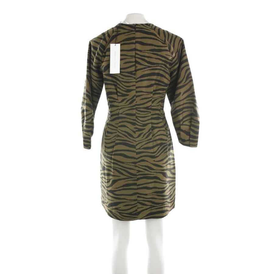 Kleid von Veronica Beard in Khaki und Schwarz Gr. 38 US 8 Neu