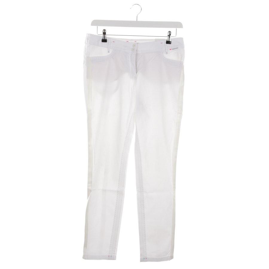 Jeans von Marc Cain Sports in Weiß Gr. 40 N4