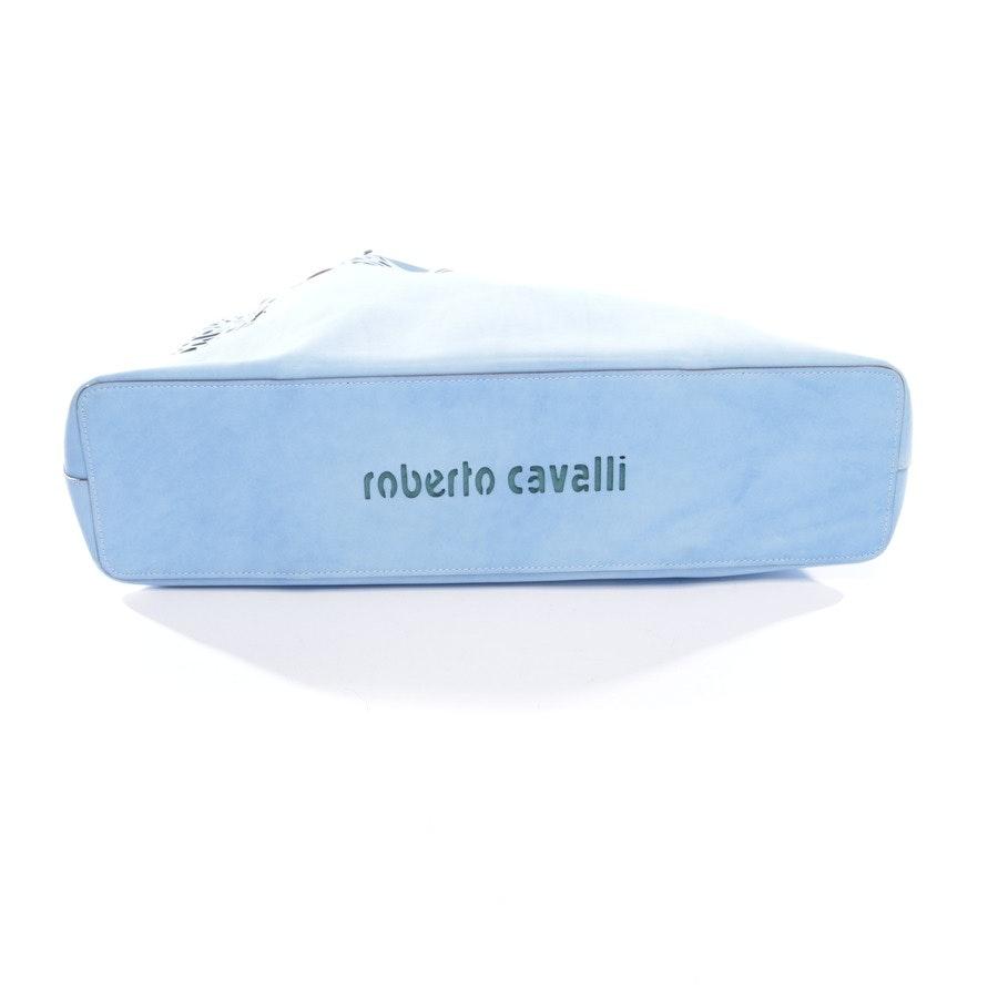 shopper from Roberto Cavalli in blue