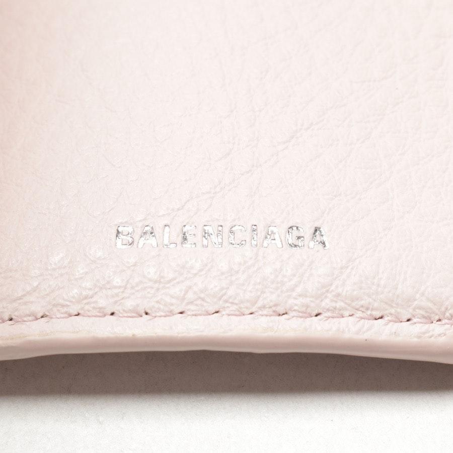 Geldbörse von Balenciaga in Rosé
