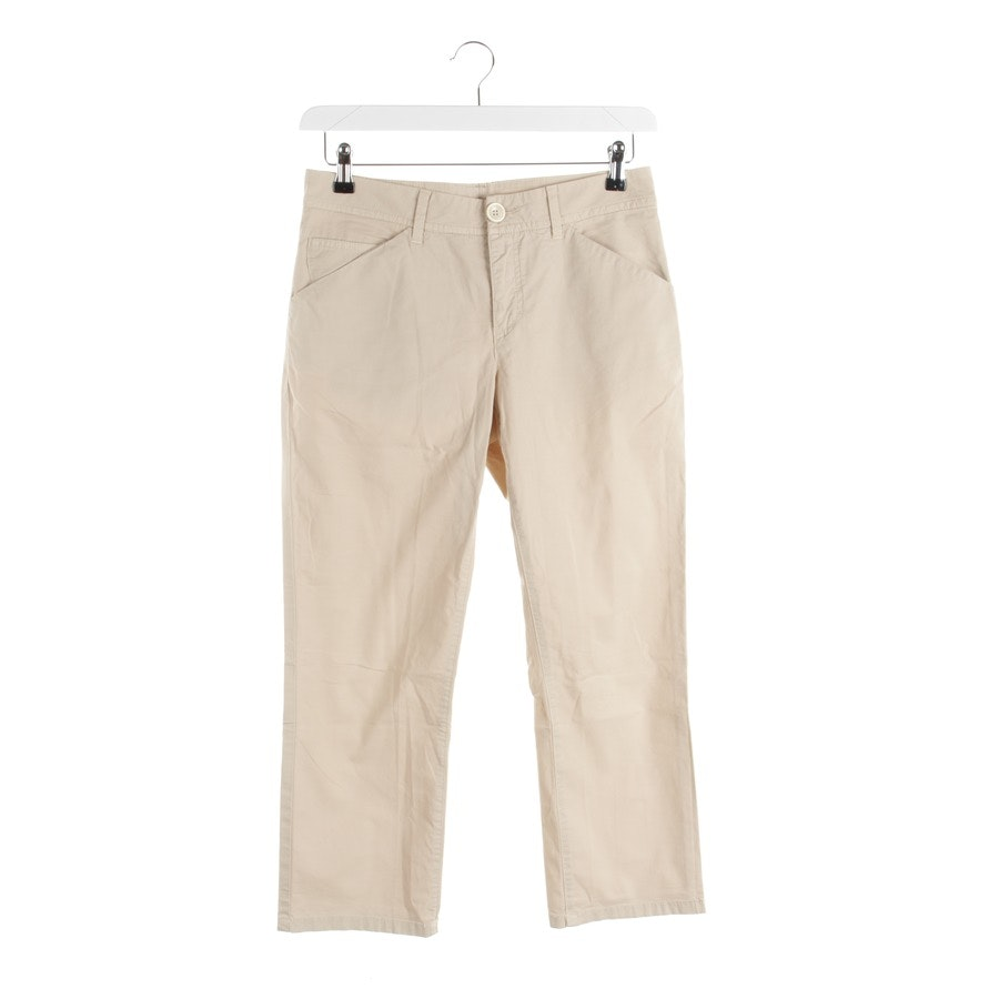 trousers from Schumacher in beige size M