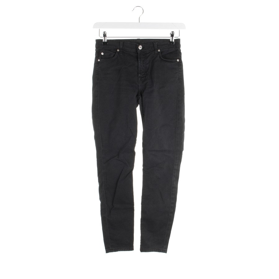 jeans from 7 for all mankind in black size W26