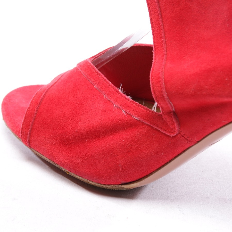 heeled sandals from Aquazzura in red size D 41 - new