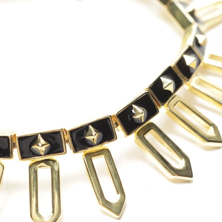 Armband von NOIR JEWELRY in Schwarz und Gold - Neu