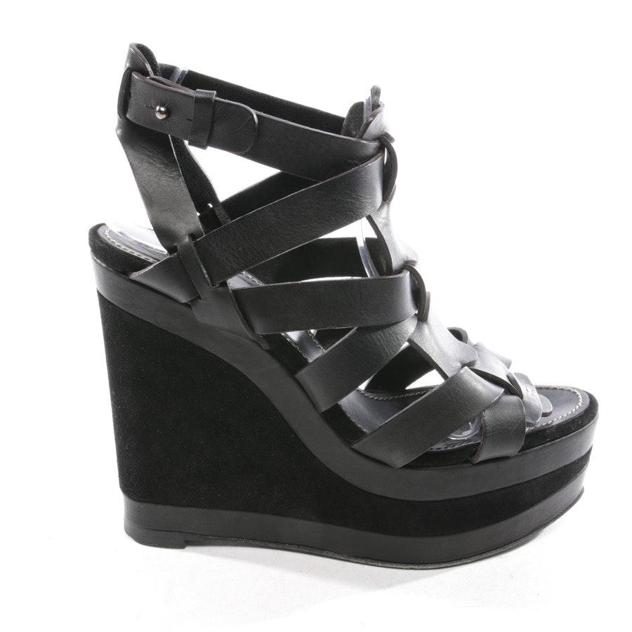 Sandaletten von Barbara Bui in Schwarz Gr. D 40