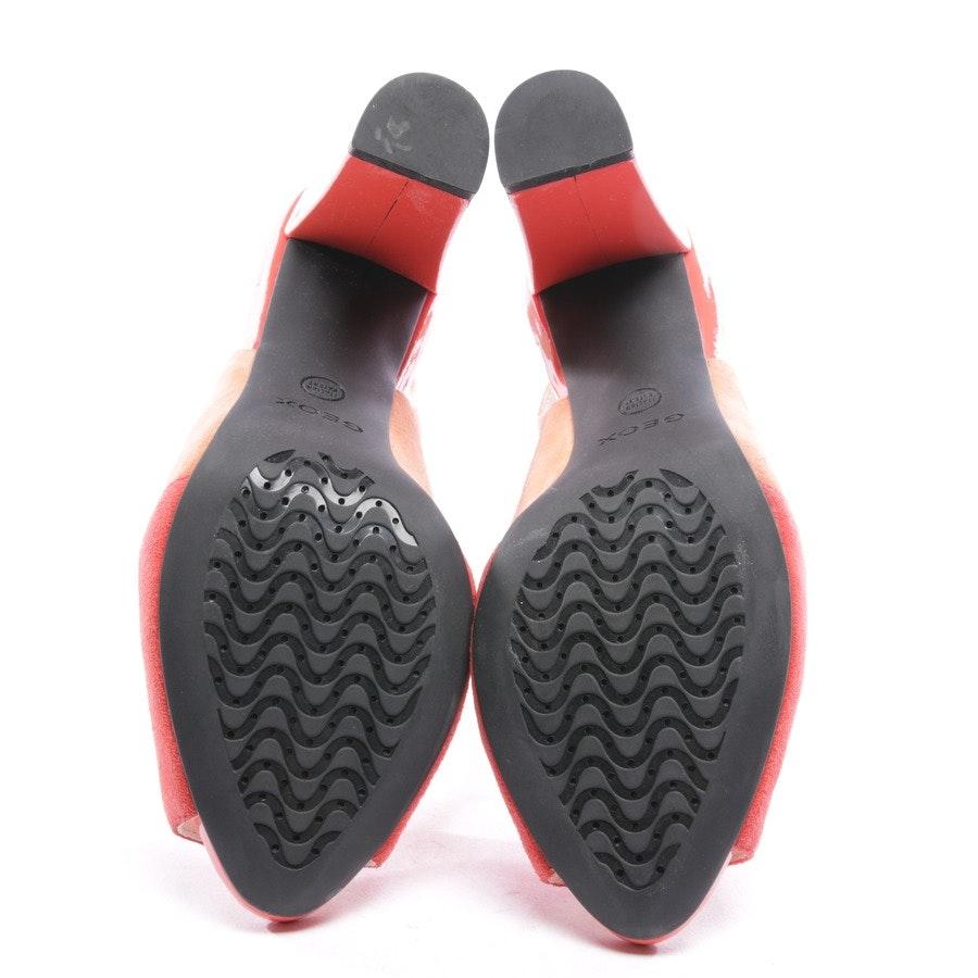 Sandaletten von Geox in Korallenrot Gr. D 37,5