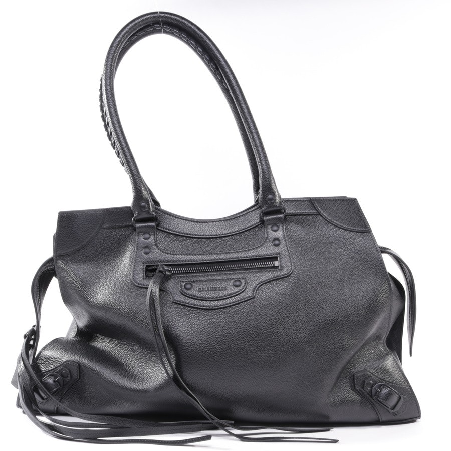 Weekender from Balenciaga in Black Neo Classic
