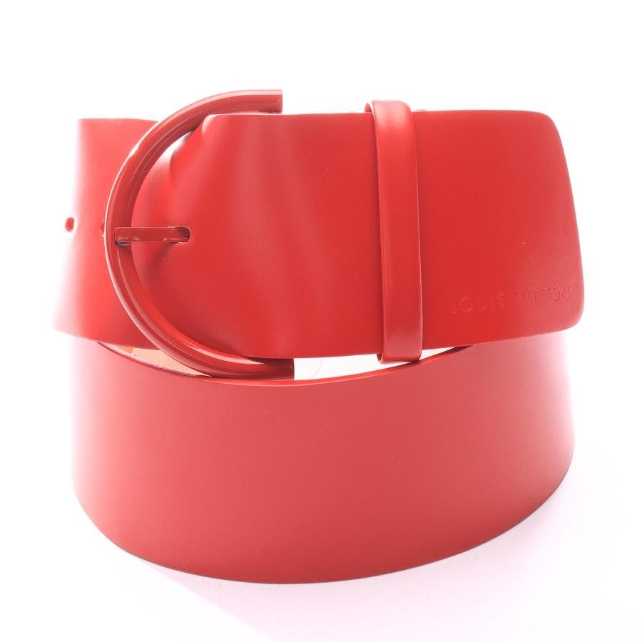 Gürtel von Louis Vuitton in Rot Gr. 90 cm
