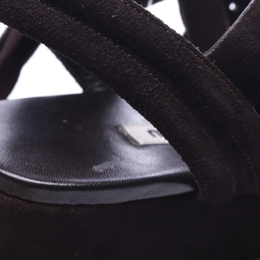 heeled sandals from Miu Miu in black size D 38,5