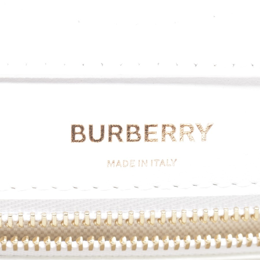 shoulder / messenger bag from Burberry in White and Beige Neu