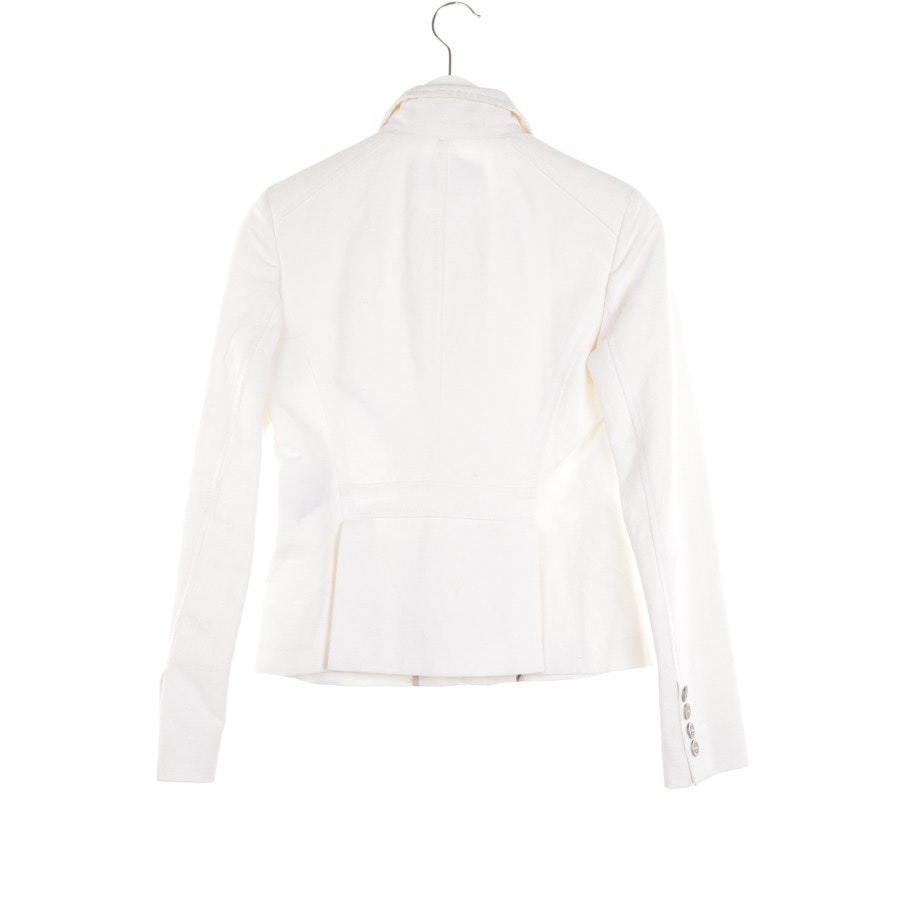 between-seasons jacket / coat from Burberry London in Ivory size 32 UK 6