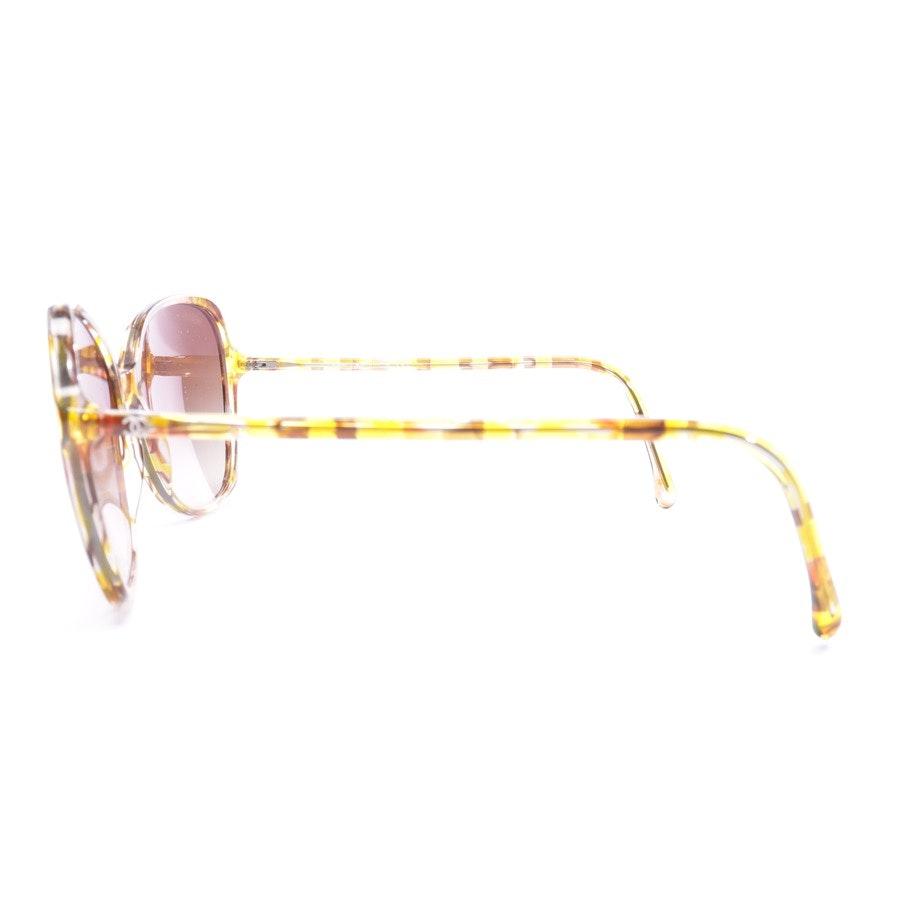 Sonnenbrille von Chanel in Gelb c.1523/S5