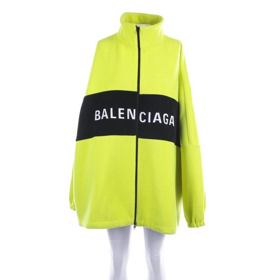 Übergangsjacke von Balenciaga in Neon Gelb und Schwarz Gr. 34 FR 36