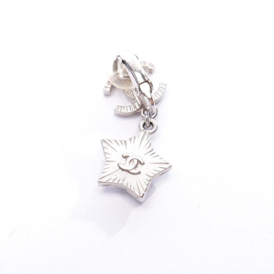 Ohrringe von Chanel in Silber