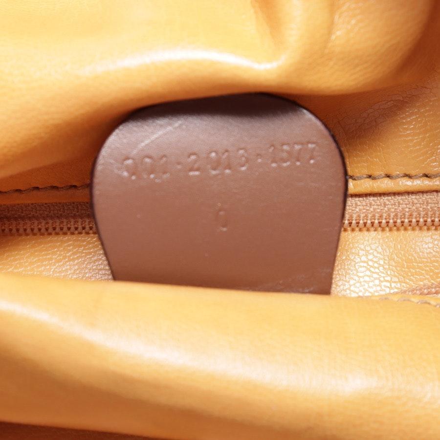 Schultertasche von Gucci in Cognac Bamboo
