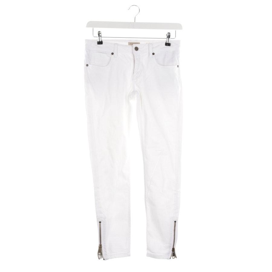 Jeans von Burberry Brit in Weiß Gr. W28