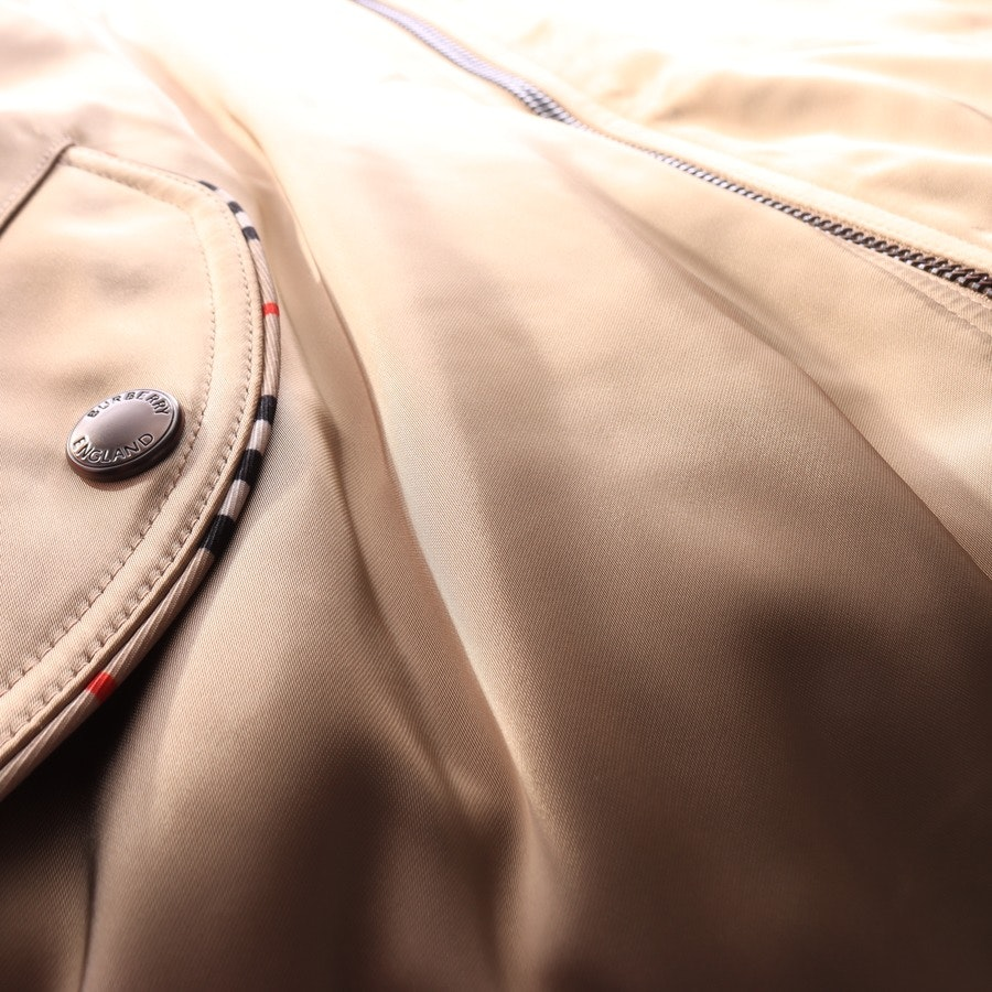 between-seasons jacket / coat from Burberry in Brown and Red size 36 UK 10 Neu