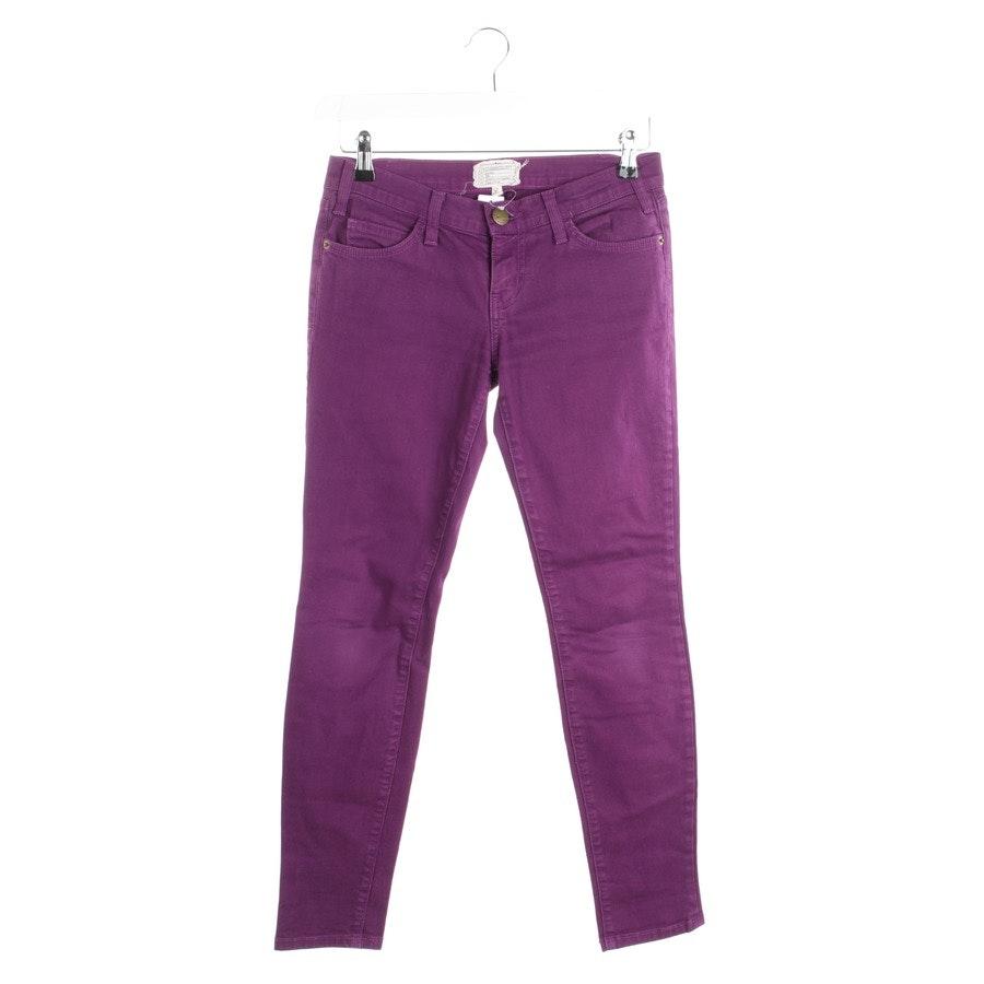Jeans von Current/Elliott in Lila Gr. W25