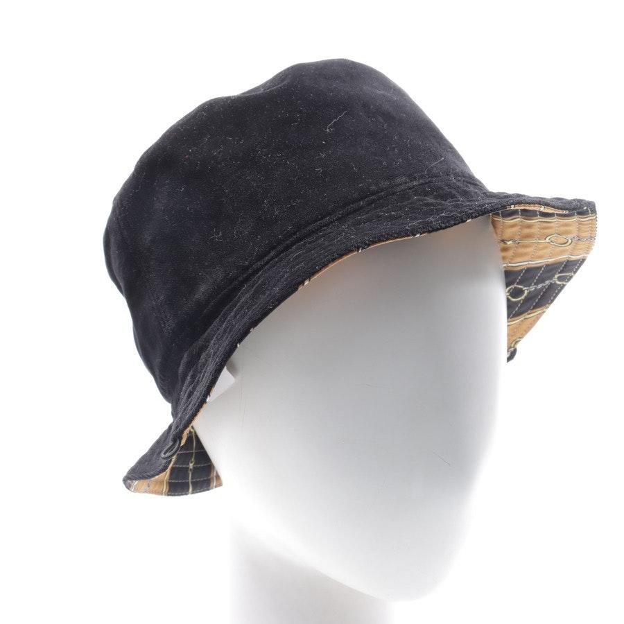 Hut von Gucci in Schwarz und Beige Gr. M Neu