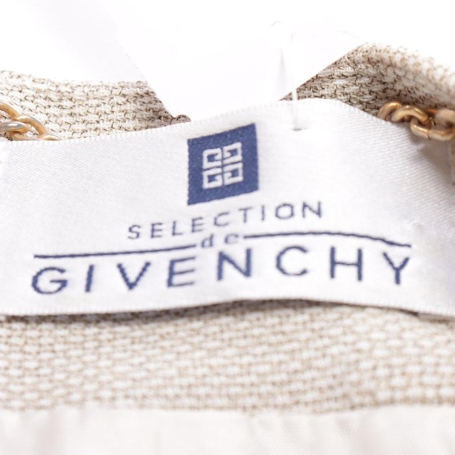 Blazer von Givenchy in Beige und Weiß Gr. 46
