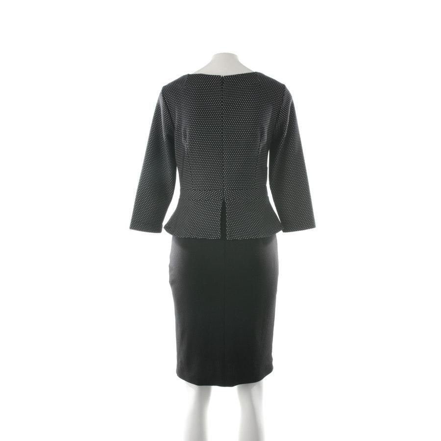 Kleid von Comma in Schwarz und Hellgrau Gr. 36