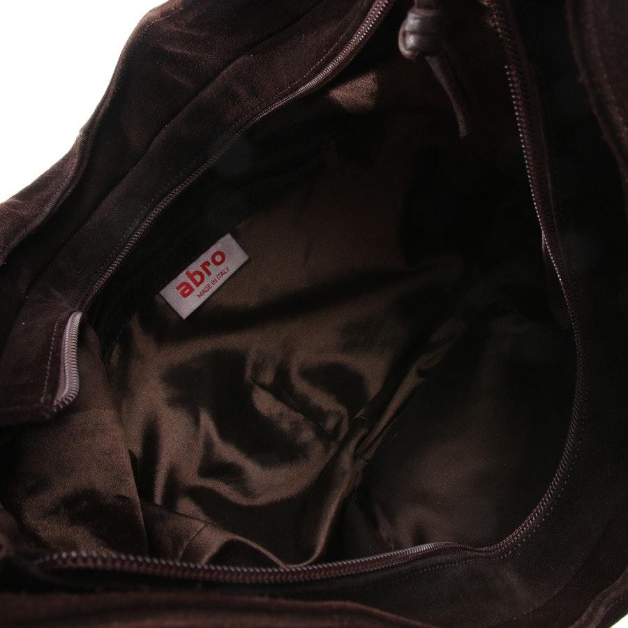 shoulder bag from Abro in dark brown