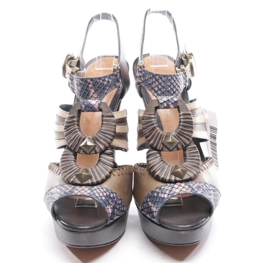 Sandaletten von Schutz in Multicolor Gr. D 39
