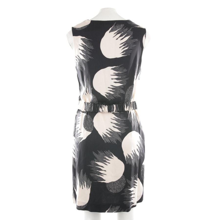 Kleid von Diane von Furstenberg in Schwarz und Beige Gr. 36 US 6