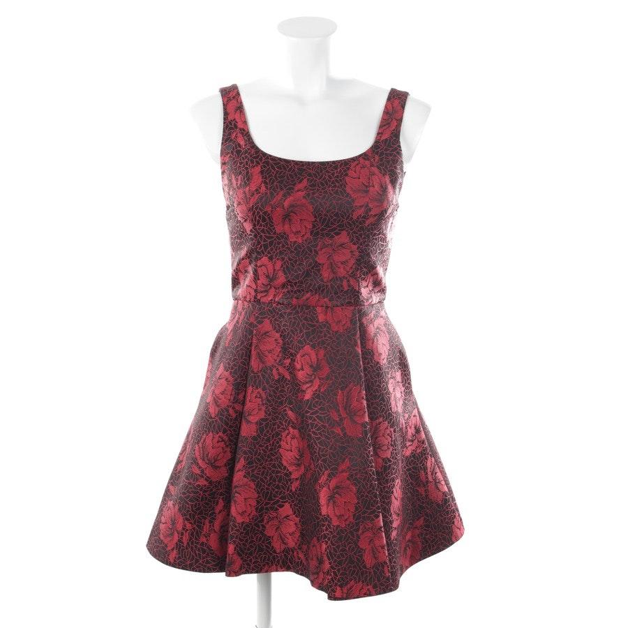 Kleid von Alice + Olivia in Rot und Schwarz Gr. 34 US4