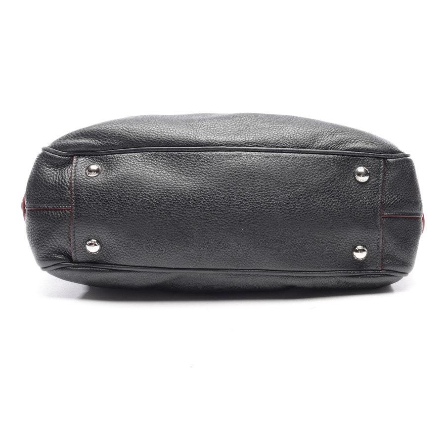 Handtasche von Prada in Schwarz und Rot