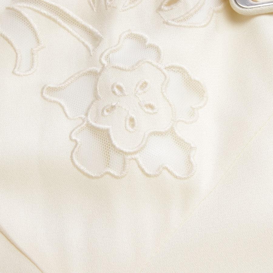 Abendkleid von self-portrait in Creme und Weiß Gr. 38 UK 12 - NEU mit Etikett