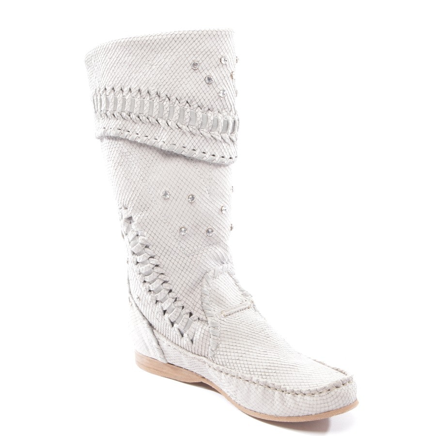 boots from El Vaquero in light grey size D 37 - new