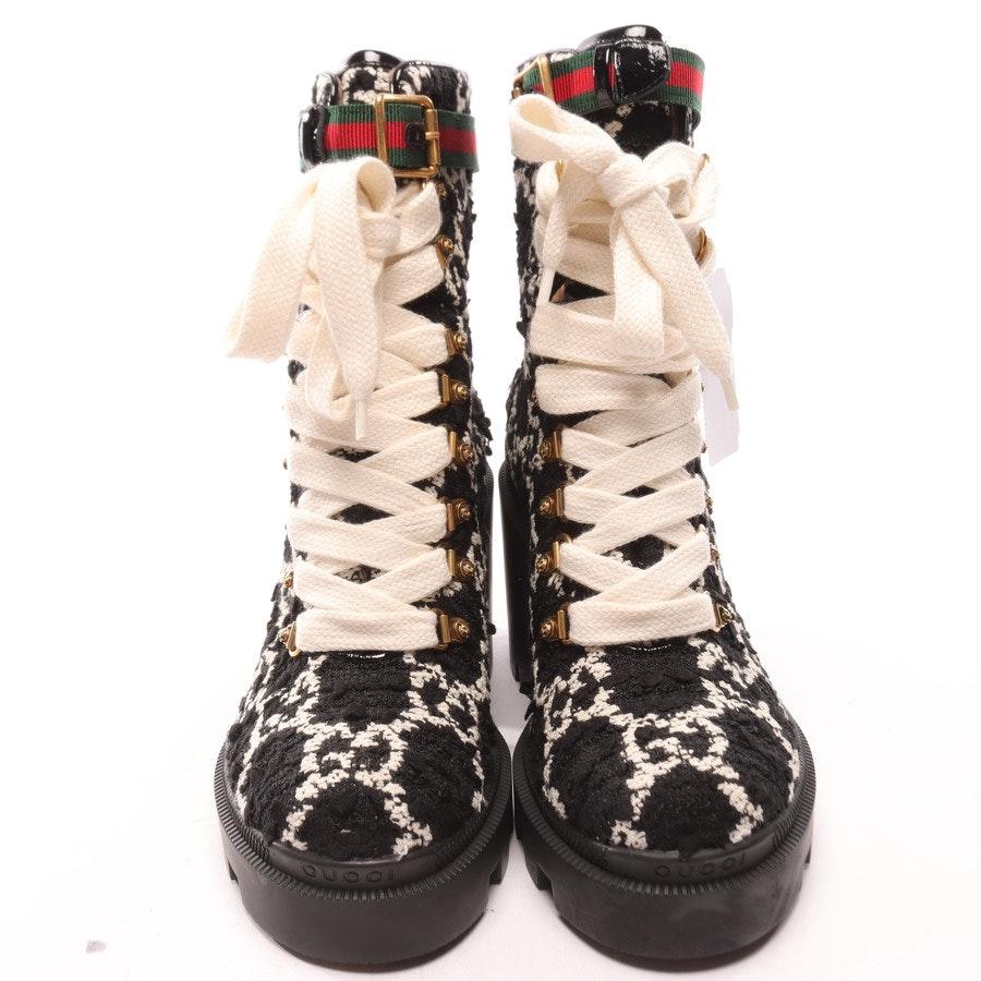 Stiefeletten von Gucci in Schwarz und Weiß Gr. EUR 38,5 Neu
