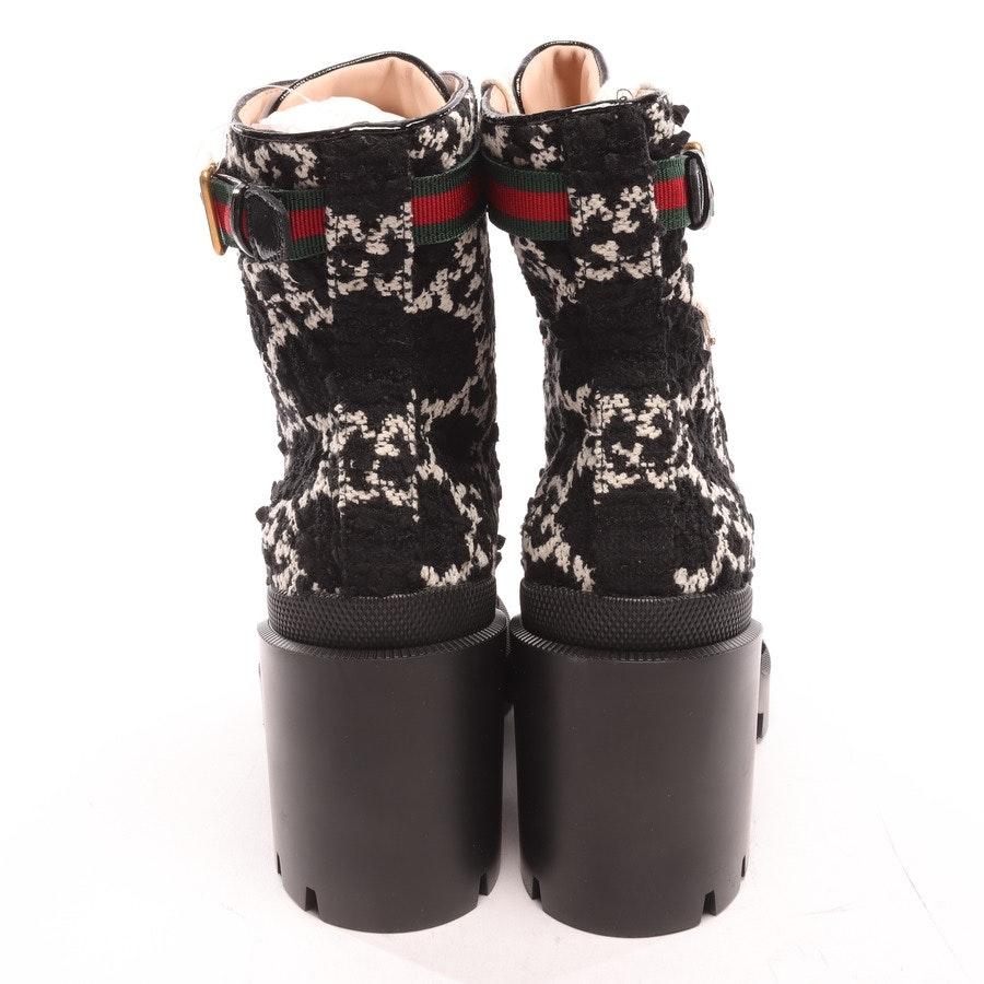 Stiefeletten von Gucci in Schwarz und Weiß Gr. EUR 40 Neu